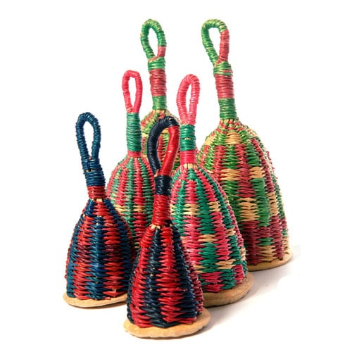 Hand woven from Ghana's elephant grass. A wonderful musical instrument for the budding musician, as well as  a unique decor piece.