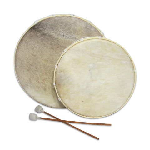 The Frame Drum is one of the oldest known musical instruments; it is reputed by some to be the first skin drum to exist.