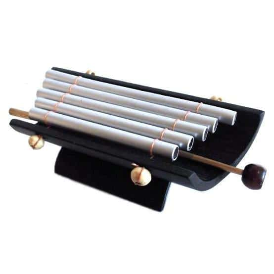 Sweet sounding mini Xylophone complete with striker. Perfect for encouraging creativity and musicality in children.