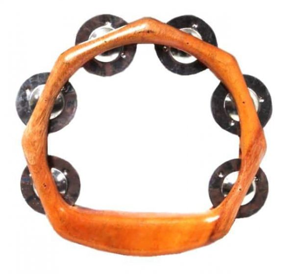 Our open framed tambourines feature a curved ergonomic handle, making them easy to play.